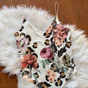 Floral Strappy Bodysuit